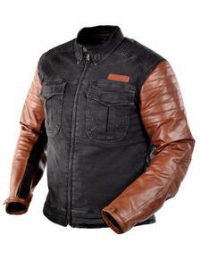 Jeansowa kurtka motocyklowa TRILOBITE Acid Scrambler - brown - 2852788416