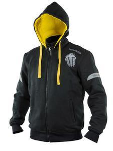 Bluza z kapturem TRILOBITE Illenius Basic - Black/ Yellow - 2852788464