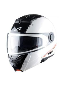 Kask ASTONE RT800 Graphic Exclusive [BIAŁO/CZARNY] - Stripes White - 2855881616