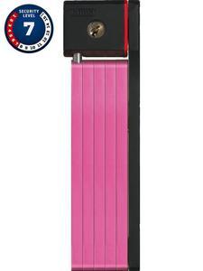 Zapięcie składane ABUS uGrip Bordo 5700/80 pink z etui transportowym. - Różowy - 2856760310