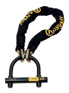 Łańcuch AUVRAY o długości 120 cm z zapięciem U-Lock Force 10 - 2857594148