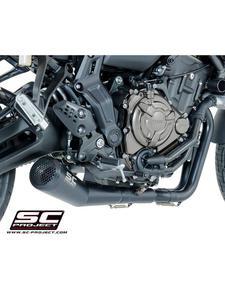 Pełny system 2-1 z tłumikiem Conic '70s Black Edition SC-Project do Yamaha TRACER 700 [16-17] / XSR 700 [16] - 2857594255