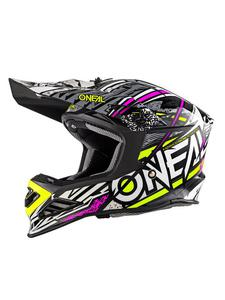 Kask off-road O'neal Seria 8 SYNTHY - pink/yellow - 2858209738