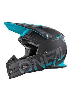 Kask Motocross O'neal Seria 5 BLOCKER - black/teal - 2858209759