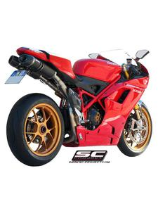 Tłumiki owalne SC-Project do Ducati 1198 [09-12] - 2858209790