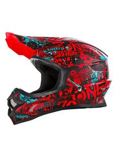 Kask O'neal Seria 3 Attack - black/red/teal - 2858209842