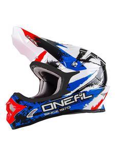 Kask O'neal Seria 3 Shocker - black/blue/red - 2858209848