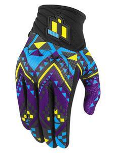 Damskie motocyklowe rękawice tekstylne Anthem 2 GeoRacer Icon - 2858209853