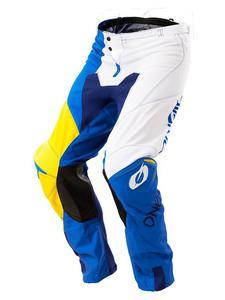 Spodnie mx O'neal Mayhem SPLIT - Blue/yellow - 2858209891