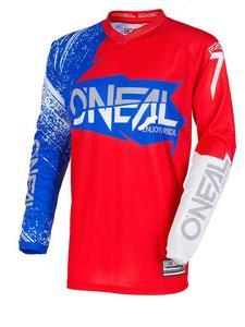 Bluza O'neal Element BURNOUT - red/white/blue - 2858209904