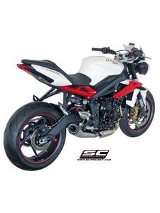 Tłumik stożkowy Slip-on SC-Project do Triumph STREET TRIPLE 675 / R [13-16]/ RX [15-16] - 2858363078