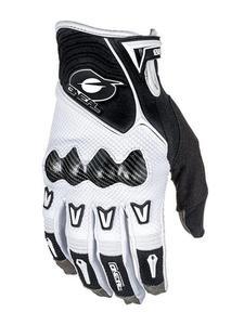 Rękawice motocyklowe O'neal Butch Carbon - White - 2858363174