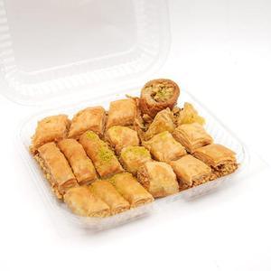 Mieszanka świeżych ciasteczek z orzechami i miodem, baklawa (Baklava), 1 kg - 2827760777