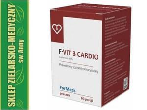 F-VIT B CARDIO Witaminy B6, B12 + Kwas foliowy Proszek 60 porcji - 2848582825