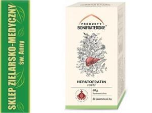 HEPATOFRATIN FORTE 30 saszetek Zioła na wątrobę - 2848582831
