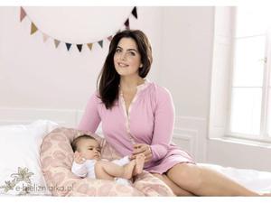 Koszula ciążowa i do karmienia Anita 1227 Finja sweet lilac - 2827922154