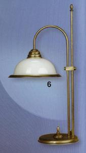 Lampa gabinetowa Tekielak TULIPAN LG (Patyna) - 2825546839