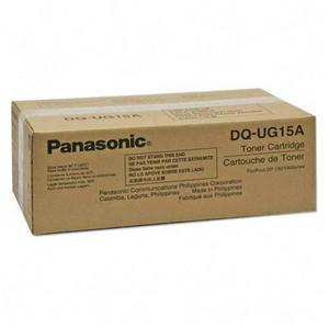 Kaseta z czarnym (black) tonerem Panasonic DQ-UG15A - 2827662757