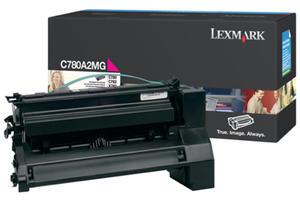 Kaseta z purpurowym (magenta) tonerem Lexmark C780A2MG - 2827663471