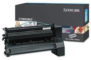 Kaseta z czarnym (black) tonerem Lexmark C782X2KG - 2827663486