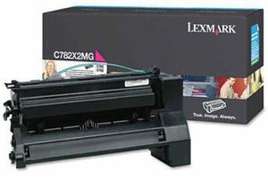 Kaseta z purpurowym (magenta) tonerem Lexmark C782X2MG - 2827663488