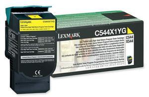 Wkład z żółtym (yellow) tonerem Lexmark C544X1YG - 2827663519