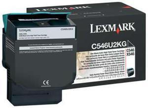 Wkład z czarnym (black) tonerem Lexmark C546U2KG - 2827663524