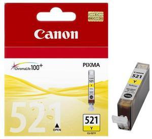 Wkład atramentowy żółty (yellow) Canon CLI-521Y - 2827663674