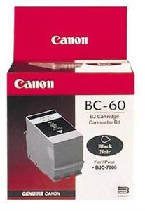 Wkład atramentowy czarny (black) Canon BC-60 - 2827663691