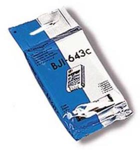 Wkład atramentowy błękitny (cyan) Canon BJI-643C - 2827663699