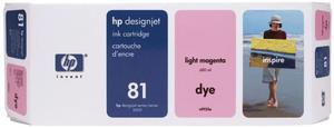 Wkład atramentowy jasnopurpurowy (light magenta) HP 81 (C4935A) - 2827663857