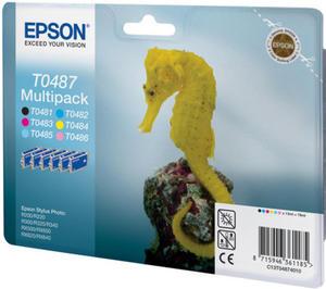 Wkład atramentowy MULTIPACK 6 kolorów Epson T0487 - 2827664522