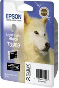 Wkład atramentowy bardzo jasny czarny (light light black) Epson T0969 - 2827664549