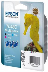 Wkład atramentowy MULTIPACK 3 kolory Epson T048C - 2827664582