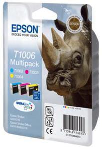 Wkład atramentowy MULTIPACK 3 kolory Epson T1006 - 2827664611