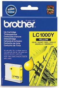 Wkład atramentowy żółty (yellow) Brother LC-1000Y - 2827664669