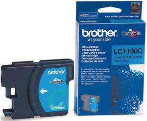 Wkład atramentowy błękitny (cyan) Brother LC-1100C - 2827664675