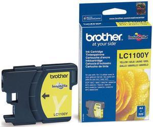 Wkład atramentowy żółty (yellow) Brother LC-1100Y - 2827664677