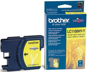 Wkład atramentowy żółty (yellow) Brother LC-1100HYY - 2827664680