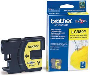 Wkład atramentowy żółty (yellow) Brother LC-980Y - 2827664691