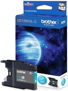 Wkład atramentowy błękitny (cyan) Brother LC-1280XLC - 2827664710