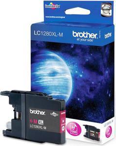 Wkład atramentowy purpurowy (magenta) Brother LC-1280XLM - 2827664711