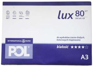 Papier A3 International Paper Pol Lux 80g - 2827664827