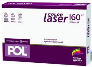 Papier A4 International Paper Pol Color Laser 160g - 2827664834