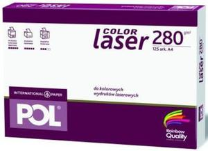 Papier A4 International Paper Pol Color Laser 280g - 2827664837