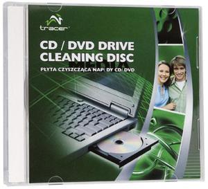 Płyta czyszczaca naped CD/DVD Tracer TRASRO16506 - 2827664866