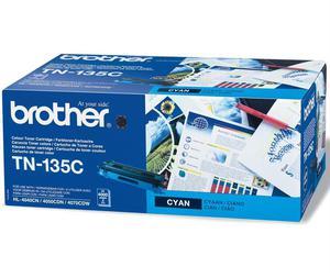 Kaseta z błękitnym (cyan) tonerem Brother TN-135C - 2827662210