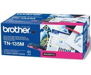 Kaseta z purpurowym (magenta) tonerem Brother TN-135M - 2827662211