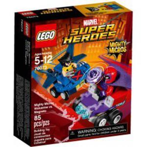 LEGO 76073 Wolverine kontra Magneto - 2846395592