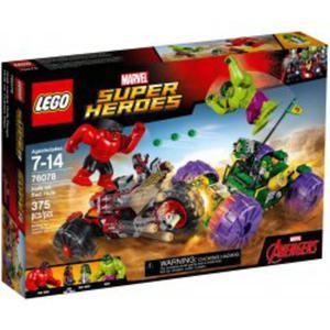 LEGO 76078 Hulk kontra Czerwony Hulk - 2846395595